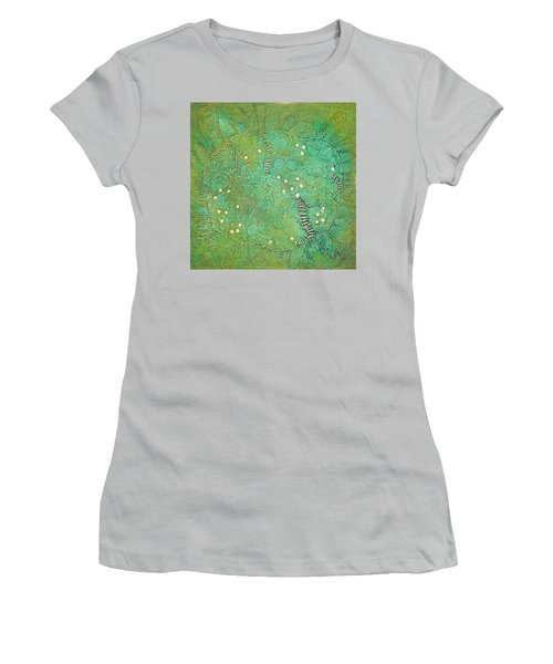 Cruciferous Flower Women's T-Shirt (Junior Cut) by Bernard Goodman