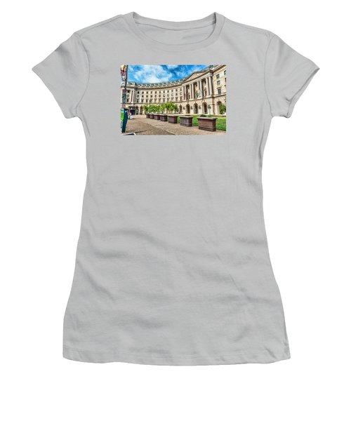 Curved Epa Women's T-Shirt (Junior Cut) by Sennie Pierson