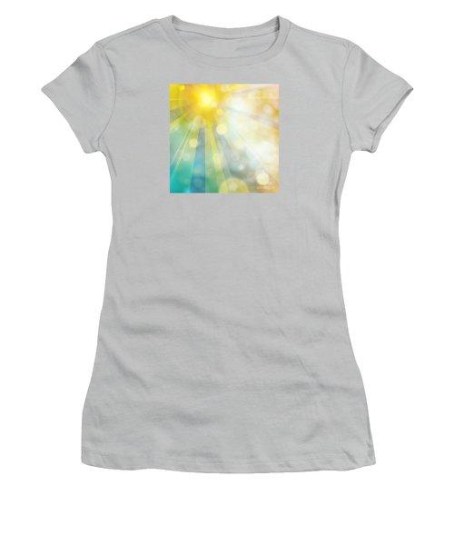 Cute Summer Women's T-Shirt (Junior Cut) by Atiketta Sangasaeng