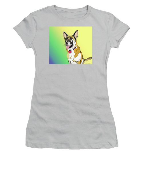 Czaki In Digi Women's T-Shirt (Junior Cut) by Ania M Milo