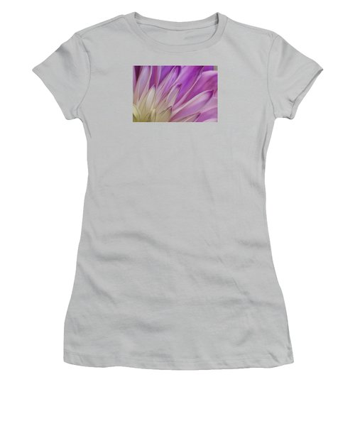 Dahlia Petals Women's T-Shirt (Athletic Fit)