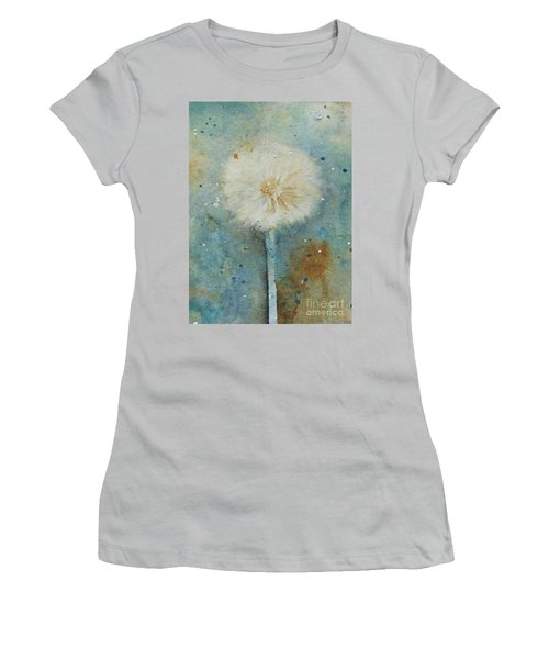 Dandelion Clock 2 Women's T-Shirt (Athletic Fit)