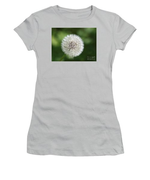 Dandelion - Poof Women's T-Shirt (Junior Cut) by Susan Dimitrakopoulos