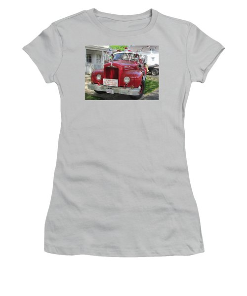 Danvers - Old Fire Engine Women's T-Shirt (Athletic Fit)
