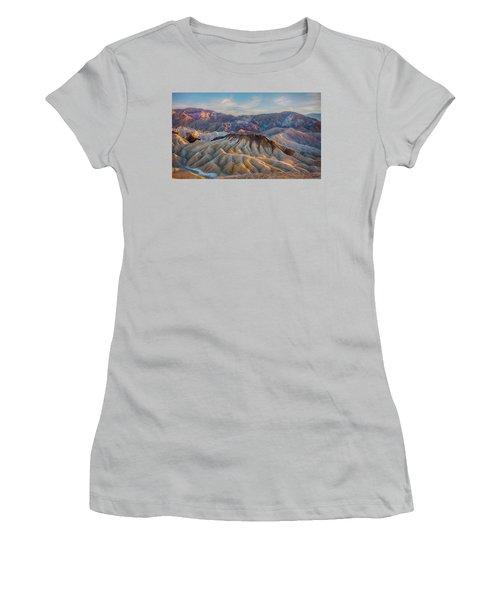 Death Valley Palette  Women's T-Shirt (Athletic Fit)