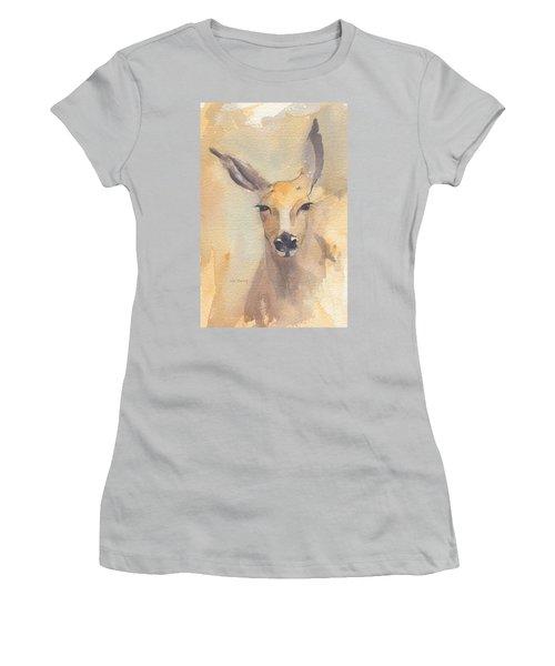 Deer Women's T-Shirt (Athletic Fit)