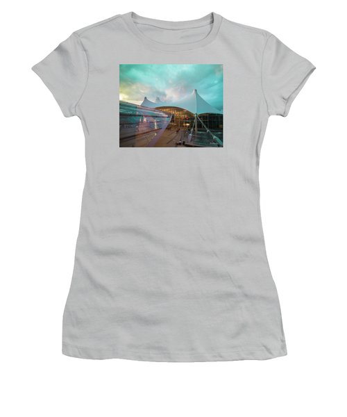 Denver International Airport Women's T-Shirt (Athletic Fit)