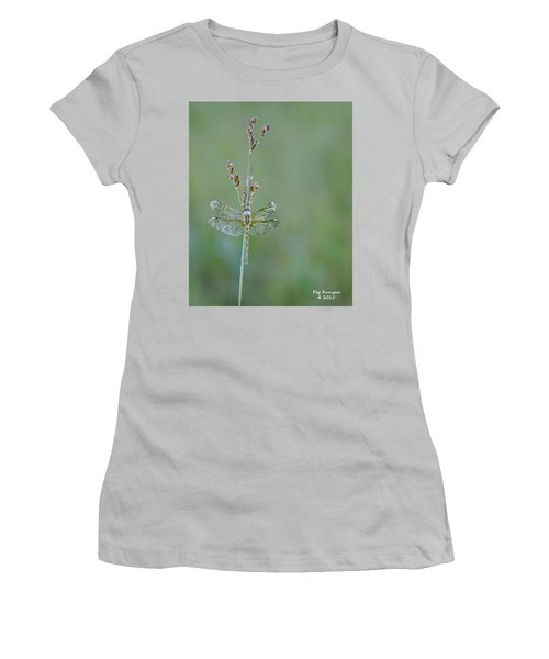 Diamond Dragonfly Women's T-Shirt (Athletic Fit)