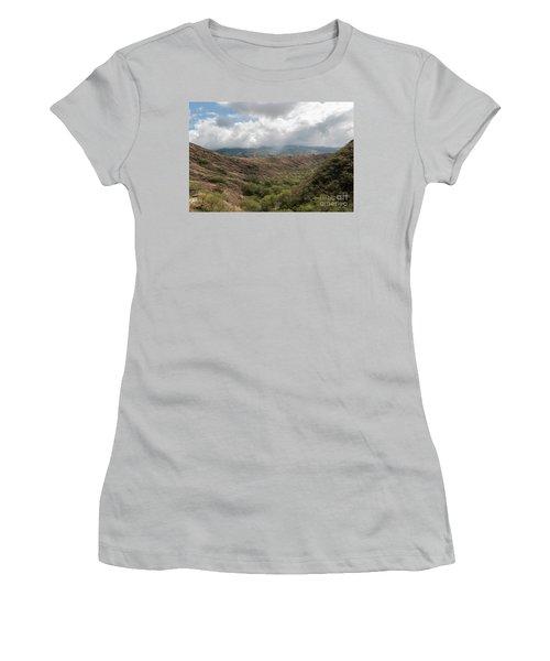 Diamond Head View Women's T-Shirt (Athletic Fit)