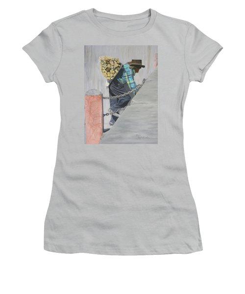 Dios Fortelezca Women's T-Shirt (Junior Cut)