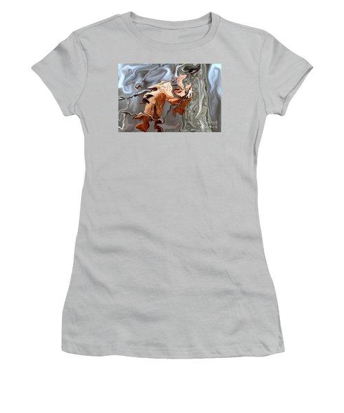 Disintegration  Women's T-Shirt (Athletic Fit)