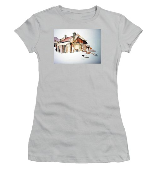 District 6 No 2 Women's T-Shirt (Junior Cut) by Tim Johnson