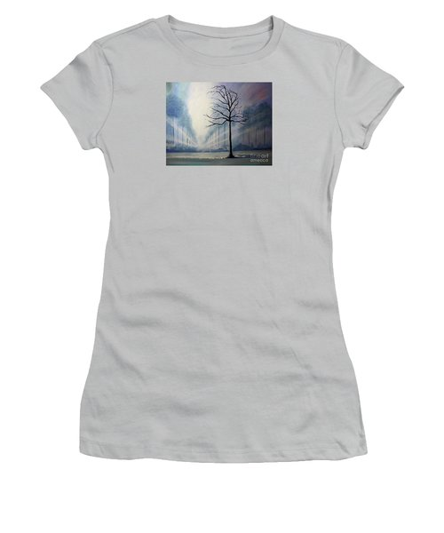 Divine Serenity Women's T-Shirt (Junior Cut) by Stacey Zimmerman