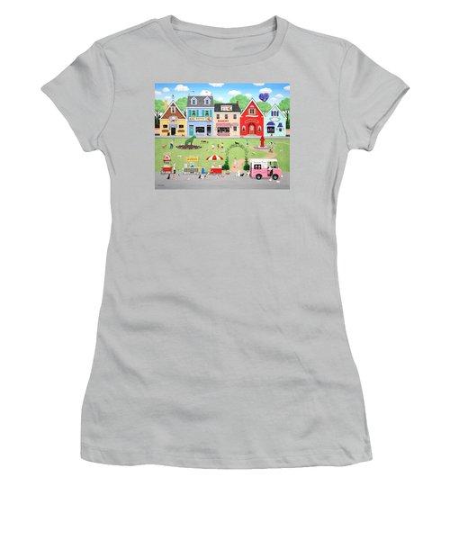 Doggie Heaven Women's T-Shirt (Athletic Fit)