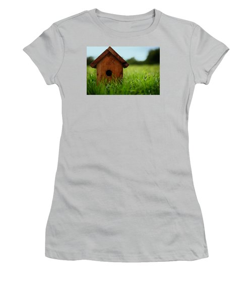Women's T-Shirt (Junior Cut) featuring the photograph Down To Earth by Laura Fasulo