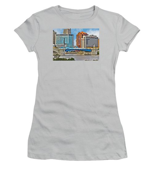 Downtown Toledo Riverfront Women's T-Shirt (Athletic Fit)