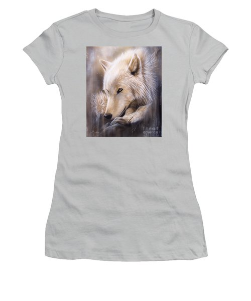 Dreamscape - Wolf Women's T-Shirt (Athletic Fit)