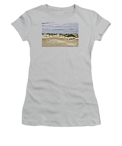 Dreamy Sand Dunes Women's T-Shirt (Athletic Fit)