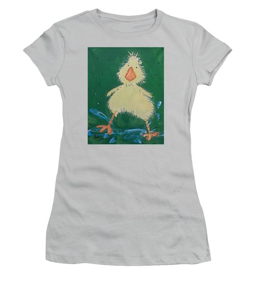 Duckling 1 Women's T-Shirt (Athletic Fit)