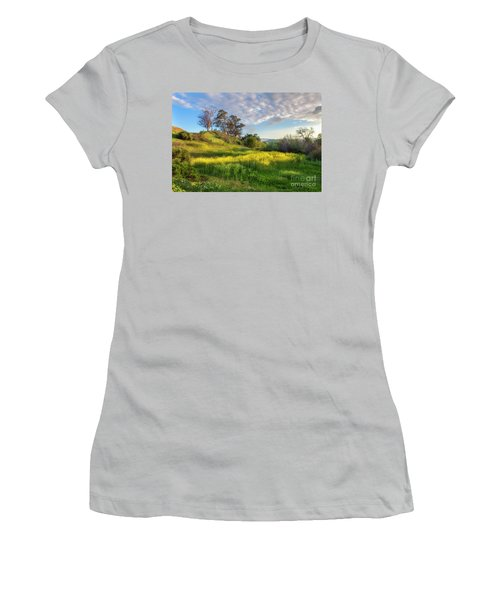 Eagle Grove At Lake Casitas In Ventura County, California Women's T-Shirt (Junior Cut) by John A Rodriguez