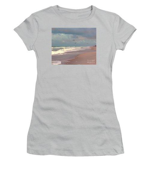 Early Evening Women's T-Shirt (Junior Cut) by Megan Dirsa-DuBois