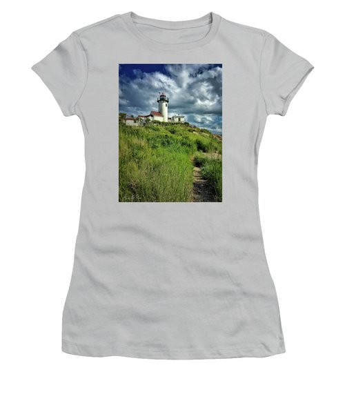 East Point Lighthouse Women's T-Shirt (Athletic Fit)