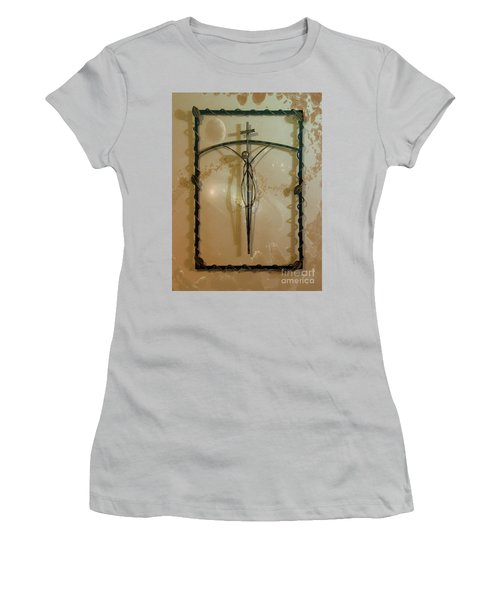 Women's T-Shirt (Junior Cut) featuring the photograph Easter Remembrance II by Al Bourassa