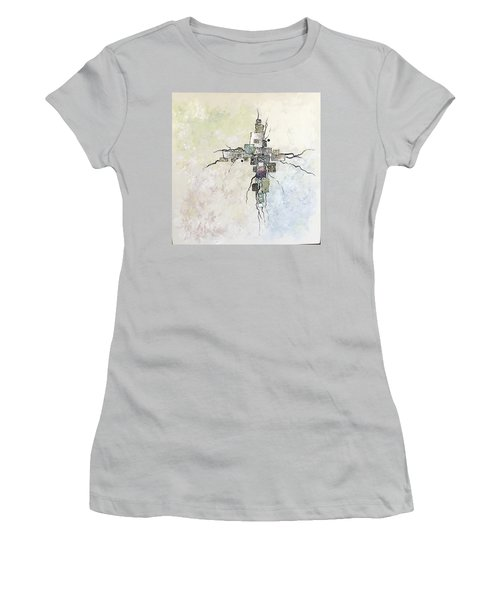 Edgy Women's T-Shirt (Athletic Fit)