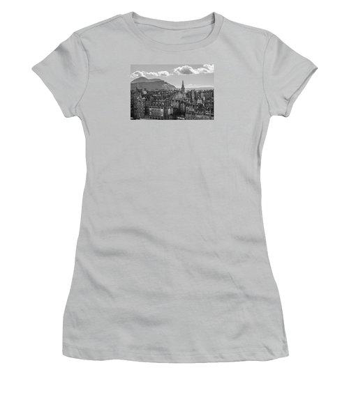 Edinburgh - Arthur's Seat Women's T-Shirt (Athletic Fit)