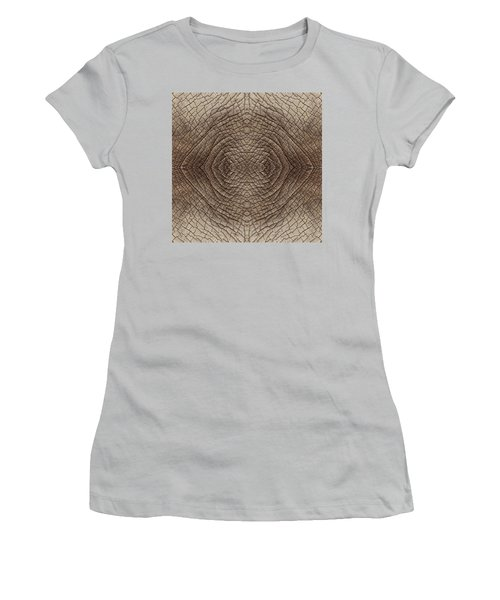 Elephant Skin Women's T-Shirt (Junior Cut) by Anton Kalinichev