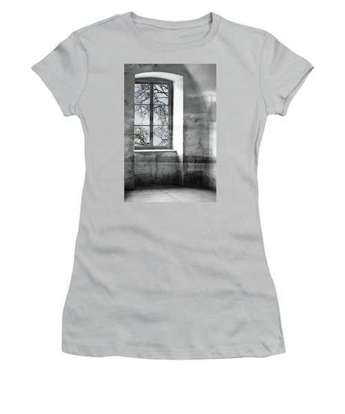 Women's T-Shirt (Junior Cut) featuring the photograph Emptiness by Munir Alawi
