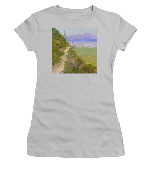 End Of Day At Gates Pass Women's T-Shirt (Junior Cut) by Susan Woodward