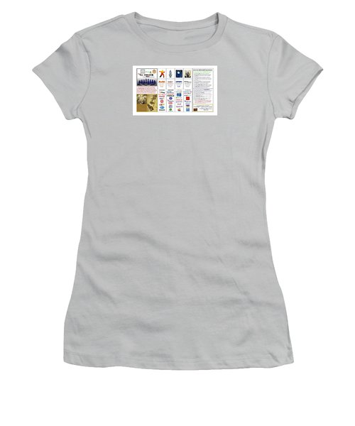 Endgames M And A Djia Women's T-Shirt (Junior Cut) by Peter Hedding