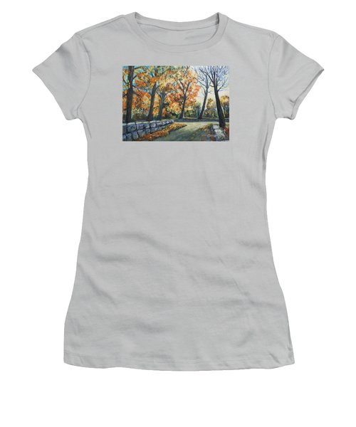 Entrance To The Greenhouse Women's T-Shirt (Athletic Fit)