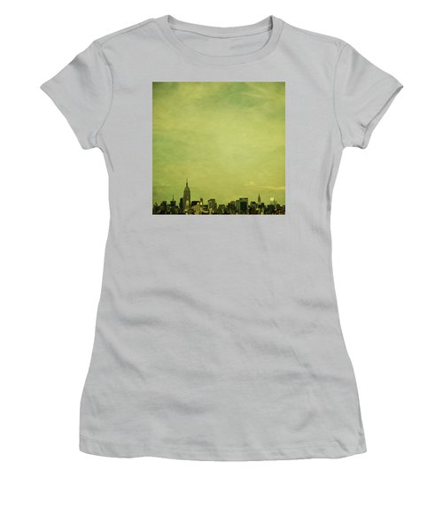 Escaping Urbania Women's T-Shirt (Athletic Fit)