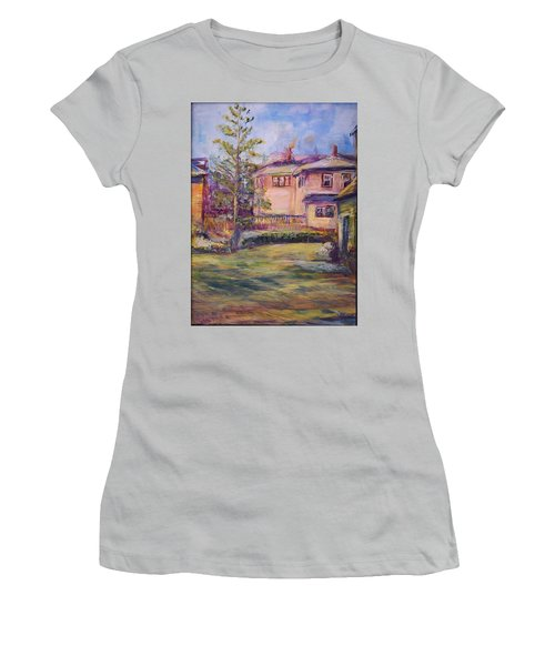 Upstairs Window Women's T-Shirt (Athletic Fit)