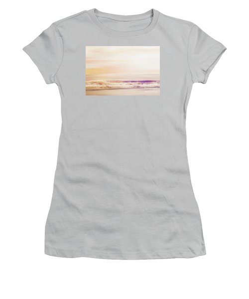 Expression - Dreams On The Shore Women's T-Shirt (Junior Cut) by Janie Johnson