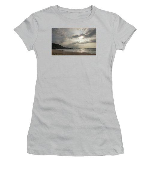 Eye To Eye Women's T-Shirt (Junior Cut) by Alex Lapidus