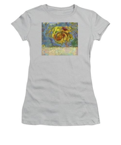 Fall Is In The Air Women's T-Shirt (Athletic Fit)