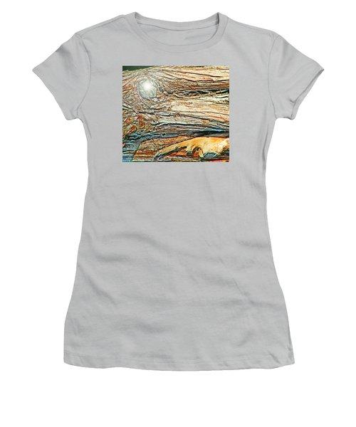 Women's T-Shirt (Junior Cut) featuring the photograph Fantasy Island by Lenore Senior