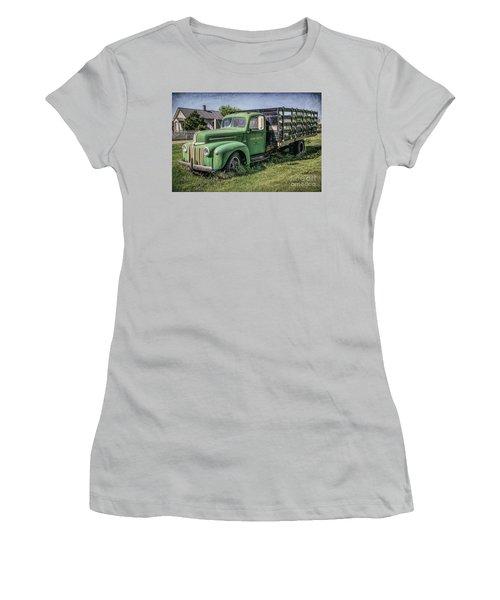 Farm Truck Women's T-Shirt (Athletic Fit)