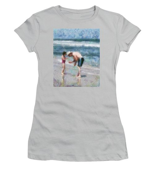 Finding Seashells Women's T-Shirt (Athletic Fit)