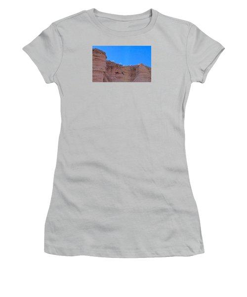 First Date Women's T-Shirt (Junior Cut) by Brenda Pressnall