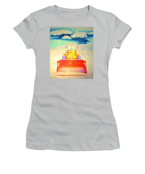 Women's T-Shirt (Junior Cut) featuring the photograph First In  by Mark Ross
