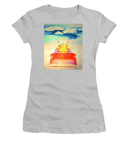 First In  Women's T-Shirt (Junior Cut) by Mark Ross