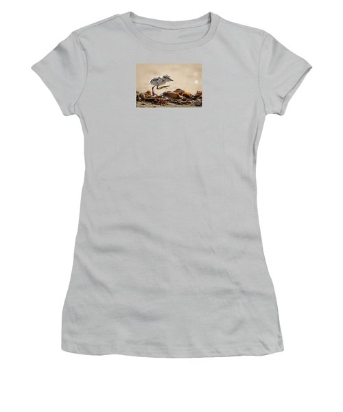 First Steps Women's T-Shirt (Junior Cut) by Alice Cahill