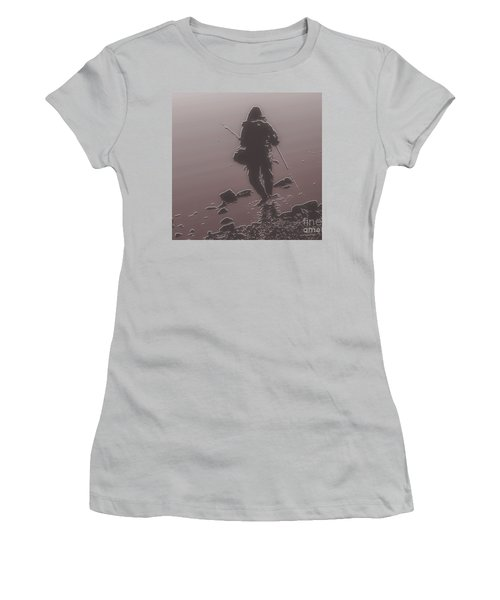 Fisherman Women's T-Shirt (Athletic Fit)
