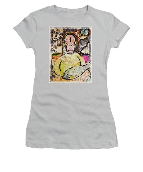 Fishmonger's Wife Women's T-Shirt (Junior Cut) by Alexis Rotella