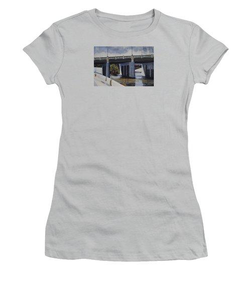 Fletcher Street Bridge Women's T-Shirt (Athletic Fit)