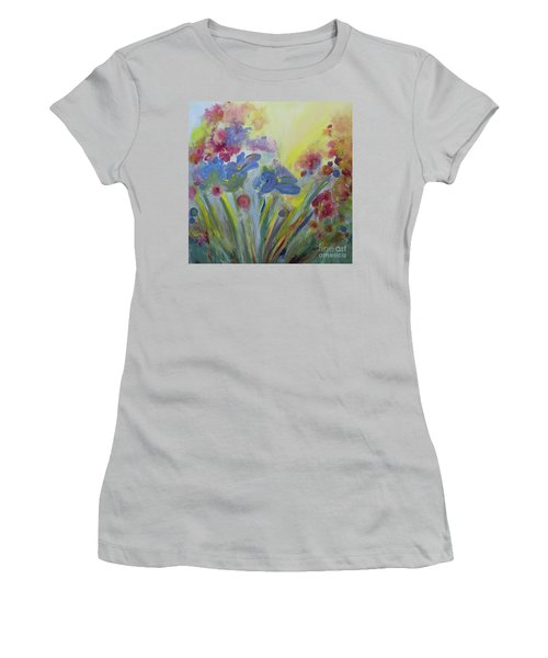 Floral Splendor Women's T-Shirt (Junior Cut) by Stacey Zimmerman